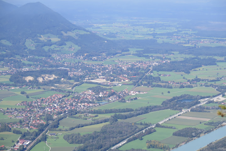 Blick vom Gipfel in Richtung Norden