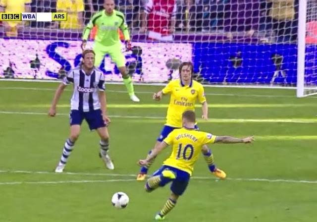 Wilshere, WBA - Arsenal