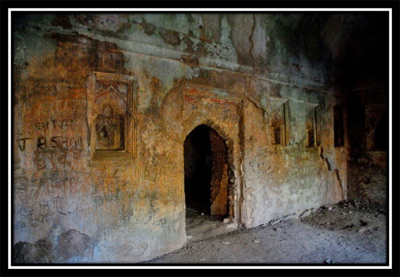 Inside walls - New Palamu Fort