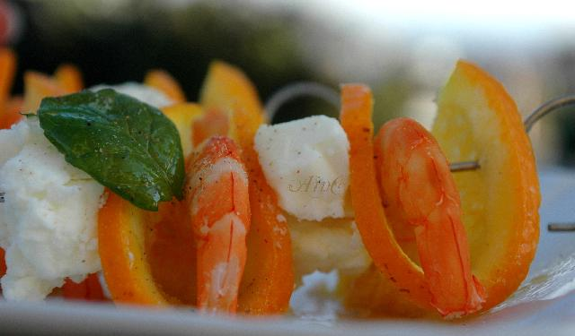 Spiedini di gamberi veloci e light vickyart arte in cucina