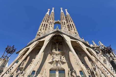 La Sagrada Familia, foto bonita
