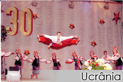"UCRÂNIA - Ukrainian National Folk Dance Ensemble ""SLAVUTICH"""
