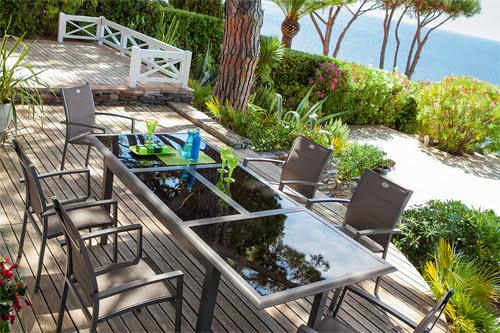 Table extensible pour jardin - Table de jardin hesperide azua ...