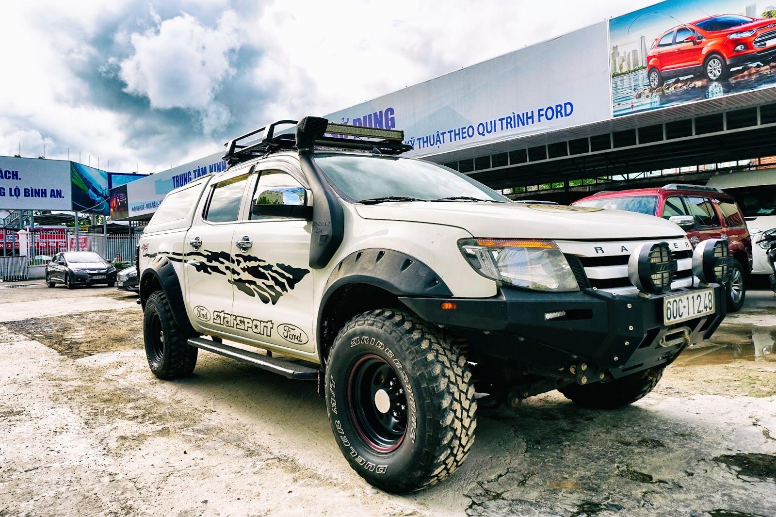 Ford Ranger luôn là đối tượng phù hợp cho các tính đồ mê độ lẫn offroad