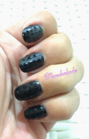 how to make matte nail polish shiny