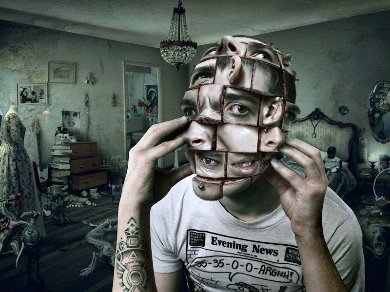 Human Face Photo Manipulation | 13 Amazing unbelievable Photoshop Image Manipulation | Big Picture | totallycoolpix | Totally Cool Pix