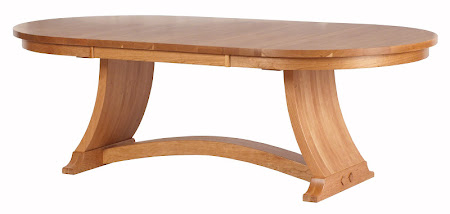 "90"" x 48"" Adagio Table in Natural Cherry"
