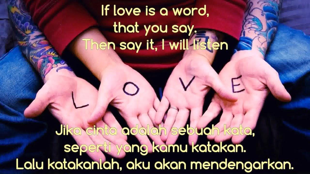 Kata Cinta Inggris Dan Terjemahannya