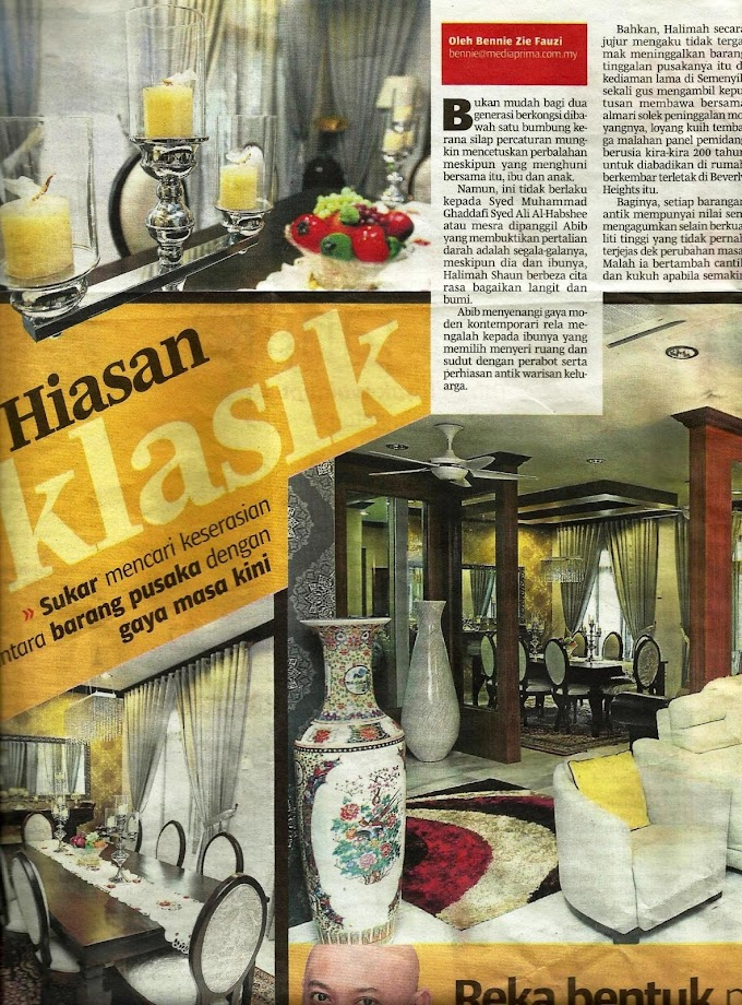 Artikel Berita Harian 14 April 2013 Ahad
