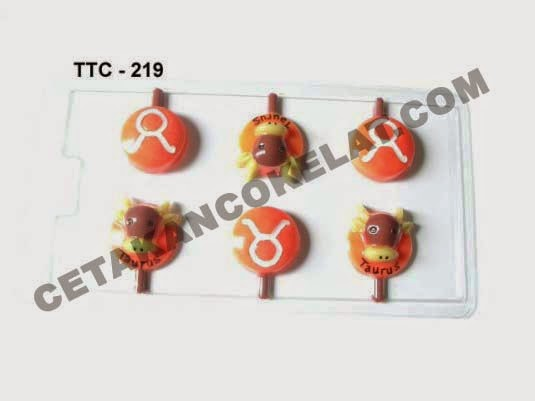 Cetakan Coklat TTC219 Zodiac Taurus
