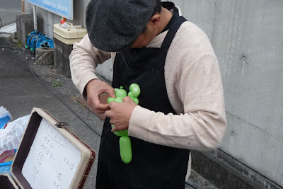 2015年第6回小鹿商店会秋祭りバルーンアート写真