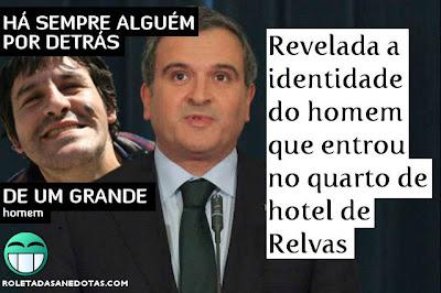 Revelada a identidade do homem que entrou no quarto de hotel de Miguel Relvas