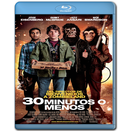 30 Minutos o Menos - BRRip 720p - Español Latino