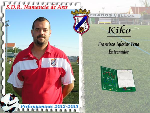 ADR Numancia de Ares. Kiko.