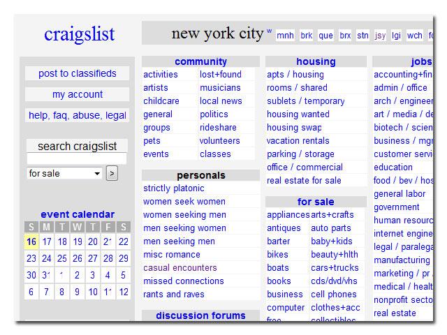 Craigslist nueva york
