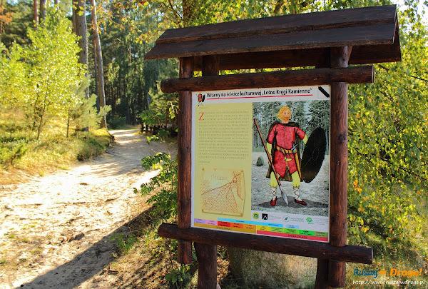 Kręgi Kamienne w Leśne - ścieżka śladami kultury Gotów