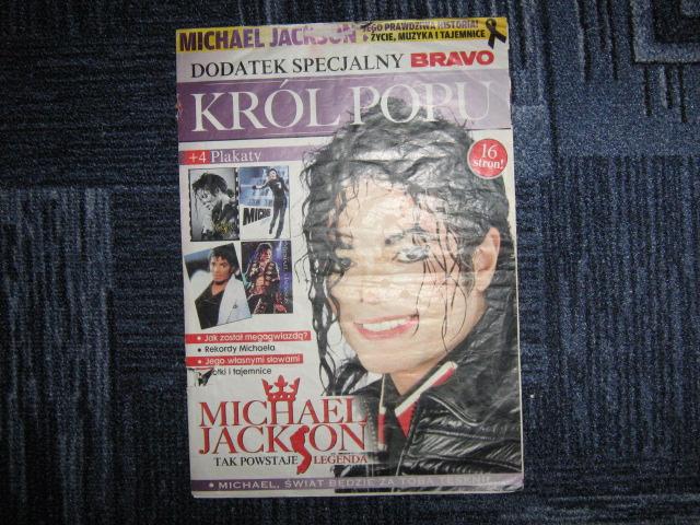 Bravo Dodatek Specialny Michael Jackson My Collection