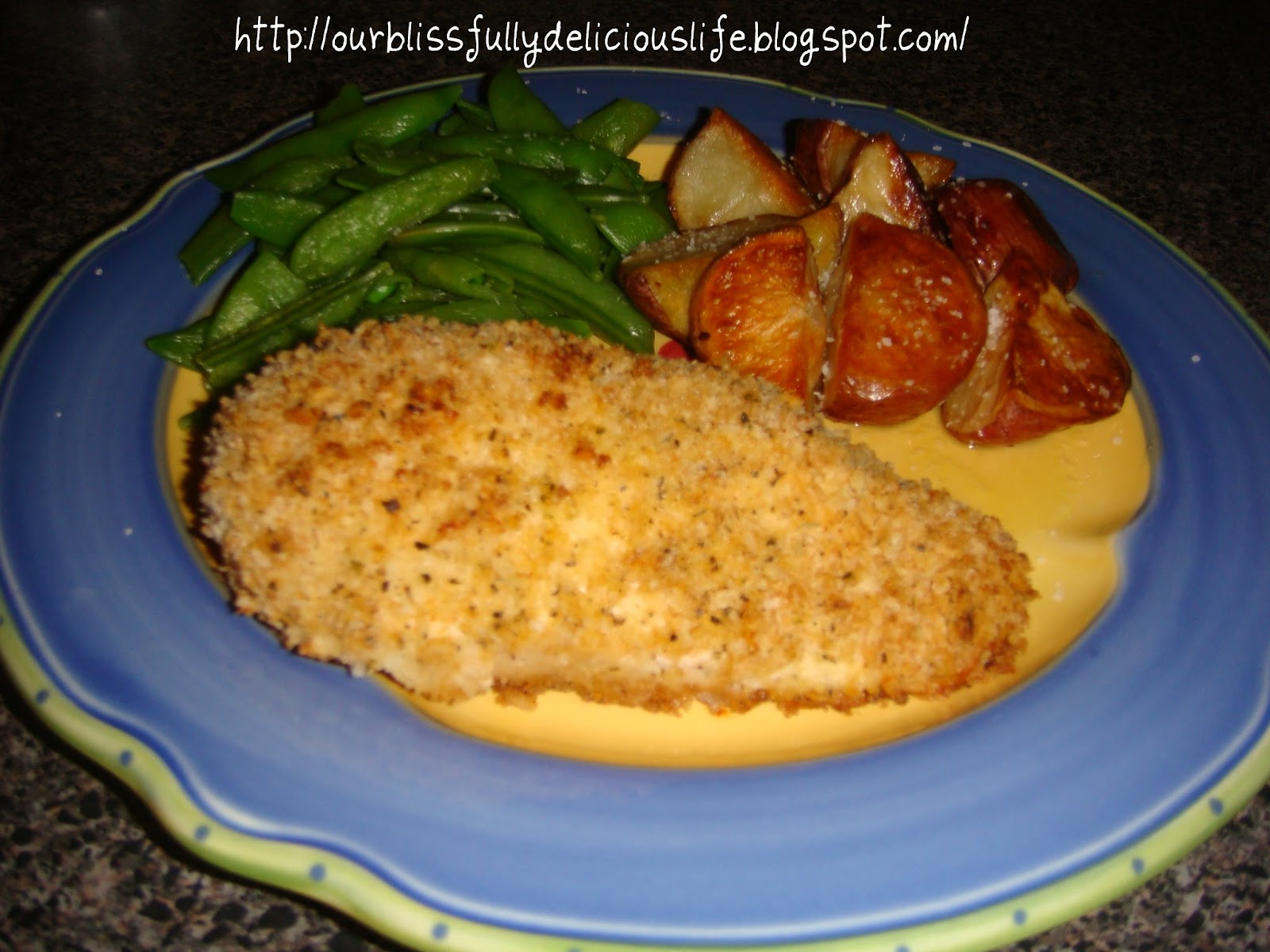 Our Blissfully Delicious Life: Crispy Baked Buttermilk Chicken Breasts