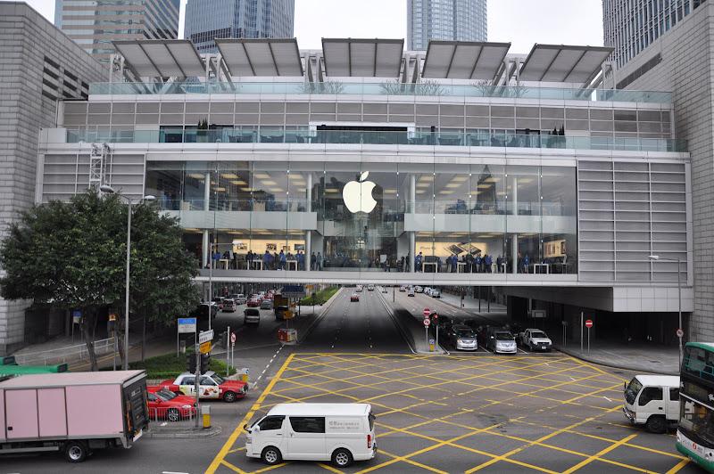 Магазин Эппл в Гонконге