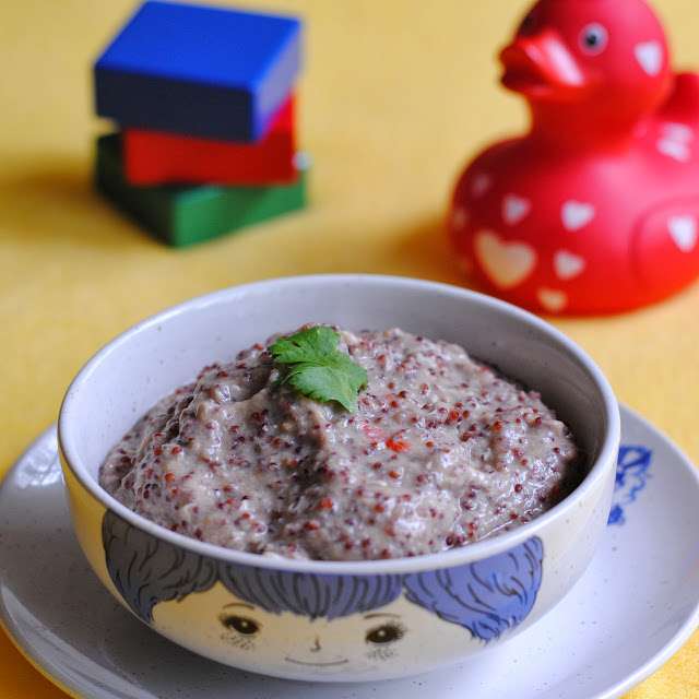 East Asian style Finger millet porridge by ServicefromHeart