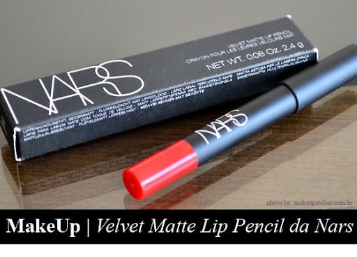 Velvet Matte Lip Pencil da Nars