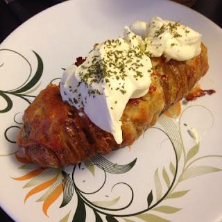 Cheesy baked potato by Shea