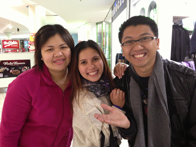 The first time I met up with my friend Marge and JC who was visiting from the Philippines