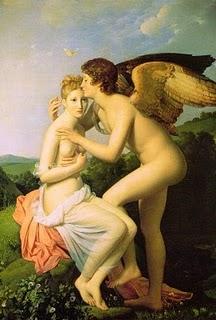 El amor de los ángeles.-Pintura renacentista