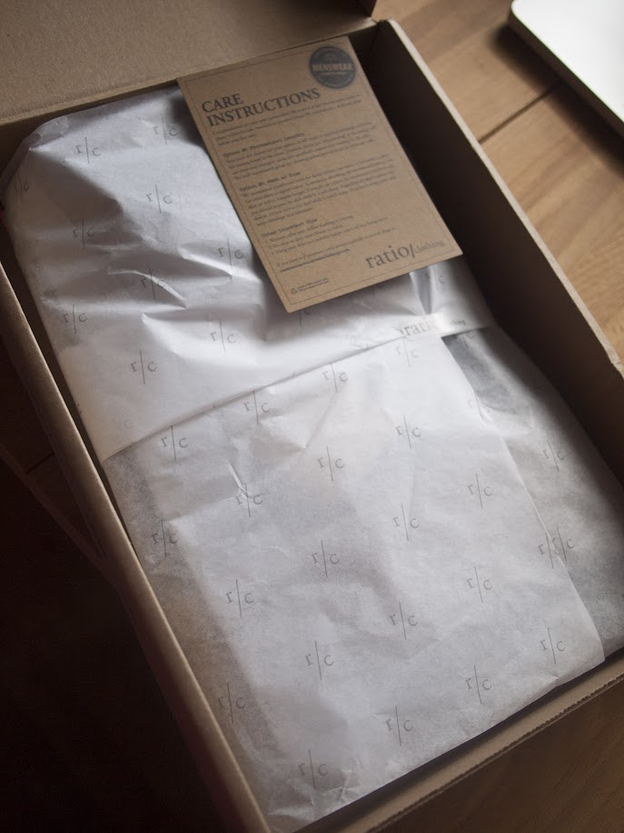 Opened Ratio Clothing box