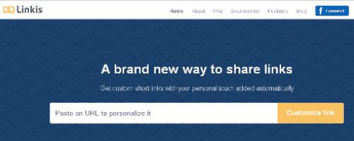 Free URL Shortener Service : Linkis