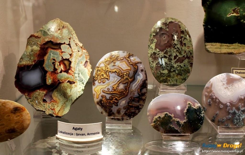 Muzeum Minerałów w Świętej Katarzynie - kamień agat
