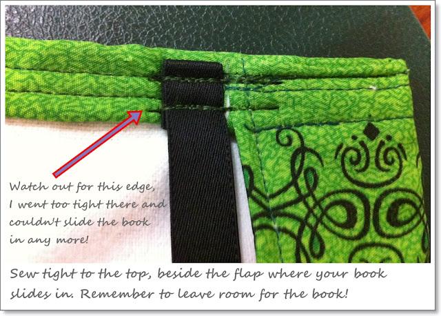 Handmade Book Cover Tutorial : Waldpfade handmade book cover photo tutorial