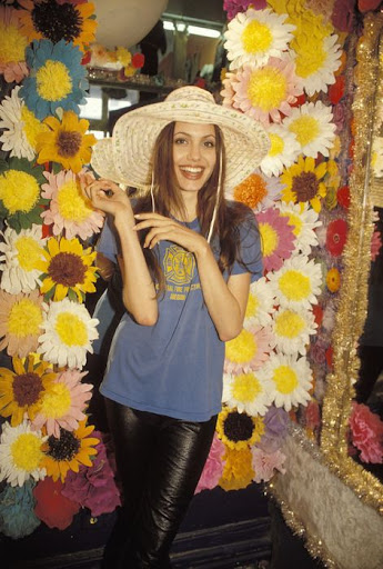 angelina jolie 16 years old. 19 years old