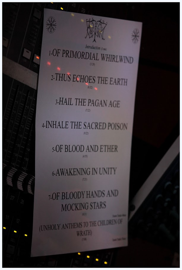 Set-list Cradle of Filth @ Cernunnos Pagan Festival 6 @ La Machine du Moulin Rouge, Paris 24/02/2013