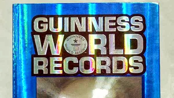 El libro Guinness de los Records