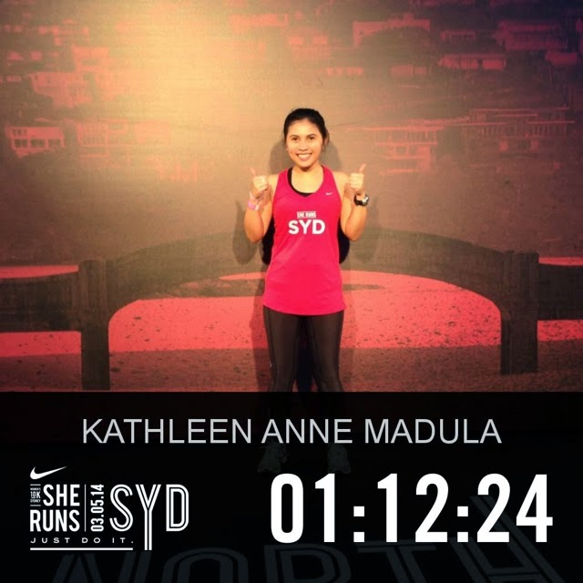 Nike She Runs 2014 Race Time Result