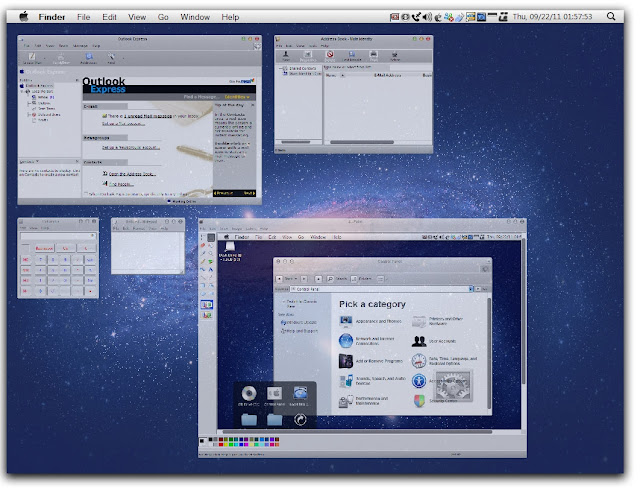 টিঊনার Windows থিম – ম্যাক স্ক্রীন 4 এক্স পি র জন্য