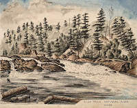 High Falls, Gatineau River (Quebec) July, 1856