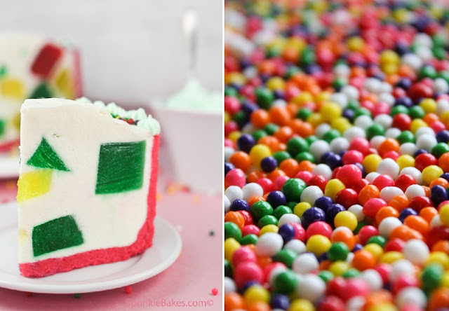 Crown Jewel Cake Sprinkle Bakes