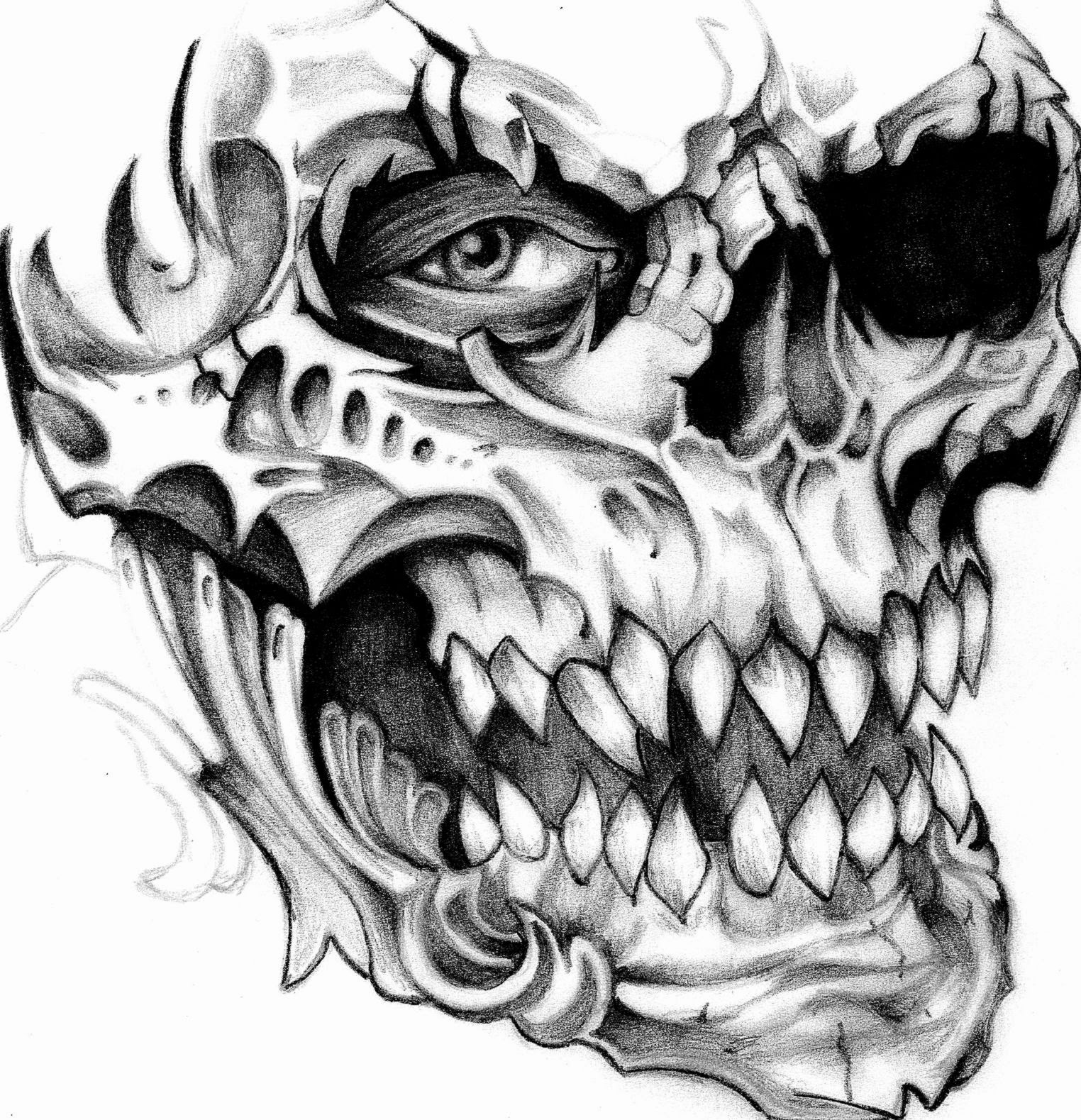 Skull tattoo free tattoo pictures for Free tattoo design