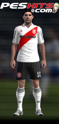 River Plate Kit Home 110 Anos - PES 2012