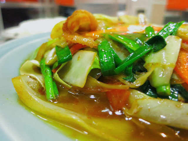 野菜てんこもりのスタミナ焼き