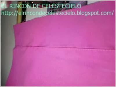 Sobrepisar costura de dobladillo postizo