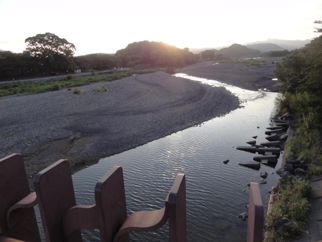 東海道五十三次 藤枝宿 瀬戸川