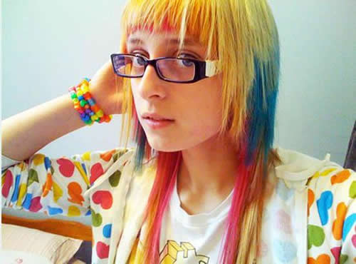 rainbow hair color 5