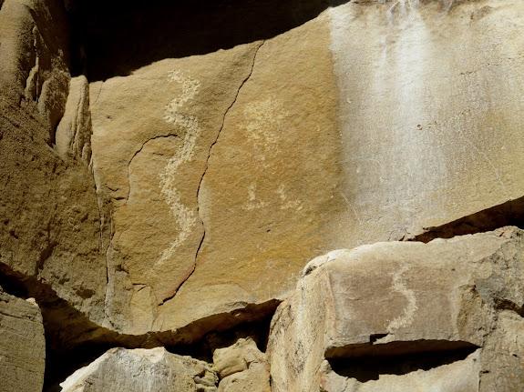 Ferron Box petroglyphs