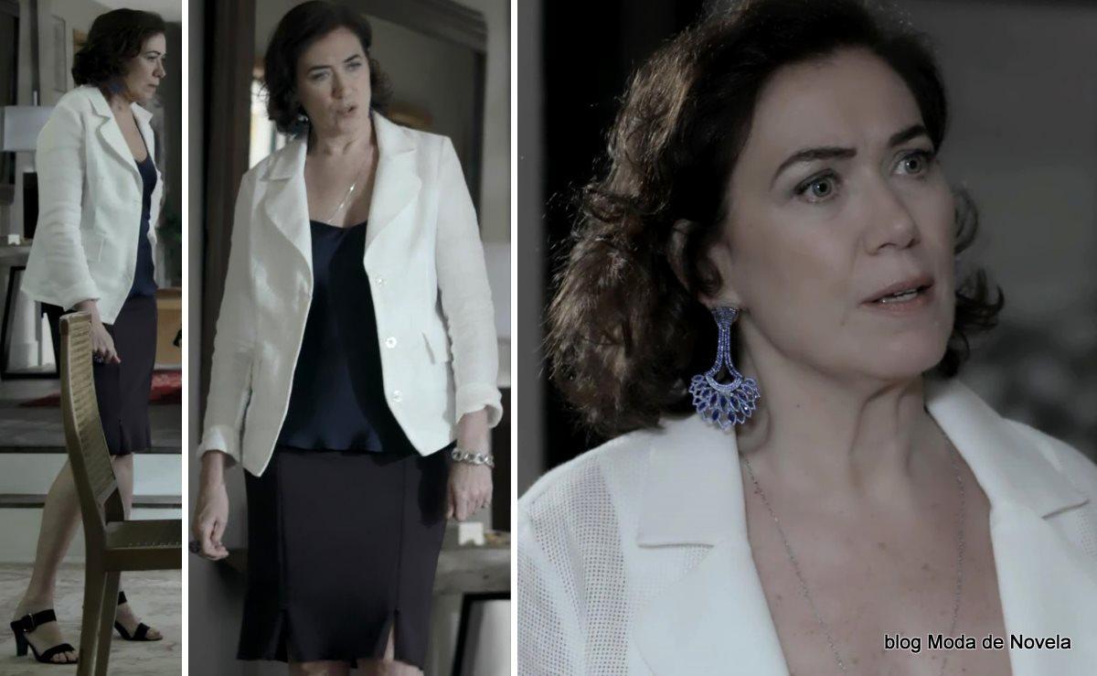 moda da novela Império, look da Maria Marta dia 10 de dezembro de 2014