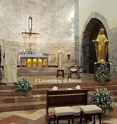 Chiesa Santa Maria Maggiore Assisi matrimonio