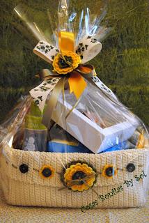 Cosas bonitas by sol envolver de regalo 7 cesta beb con - Papel de regalo transparente ...