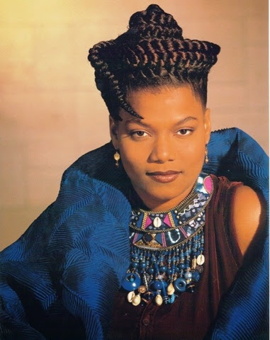 Natural In Nashville Throwback Queen Latifah S Braided Crown